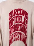 Garcons Infideles - Distressed Rollneck Knit Sweater - Men