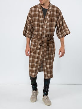 Fear Of God - Plaid Sweater Brown - Men