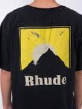 Rhude - Yellow Moonlight Logo T-shirt - Men