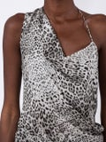 Cushnie - Leopard Print Blouse Black And White - Women
