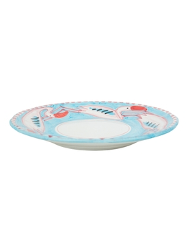The Webster x Ceramica Artistica Solimene Flamingo Dinner Plate MULTICOLOR