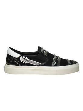 Amiri - Music Note Slip On Sneakers - Men