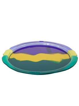 Gaetano Pesce - Multicolor Round Try Tray Large Version 1 - Trays & Boxes