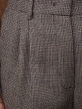 Fendi - Grey Houndstooth Trousers - Women