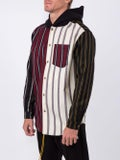 Alexanderwang - Striped Hooded Shirt - Men