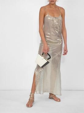 Lisa Marie Fernandez - Side Slit Sheer Slip Dress White - Women
