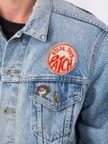 Madeworn - Grateful Dead Embroidered Rose Denim Jacket - Men