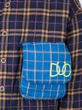 Duo - Check Print Padded Shirt - Men