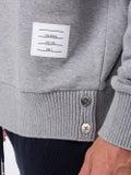 Thom Browne - Oversized Loopback Sweatshirt Grey - Men