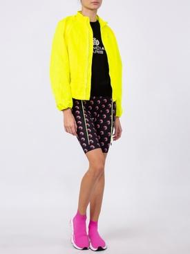 yellow bomber jacket