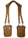 Amiri - Brown Leather Harness Bag - Men