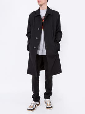 Givenchy - Back Logo Overcoat - Men