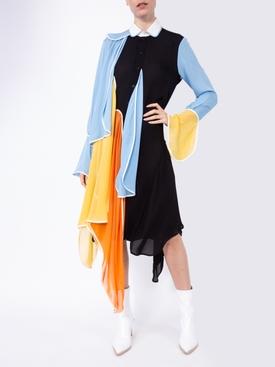 PETAL SHIRT DRESS