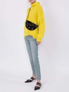 Givenchy - Roll Neck Sweater Bright Yellow - Women