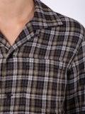 Saint Laurent - Long-sleeved Checkered Shirt - Women