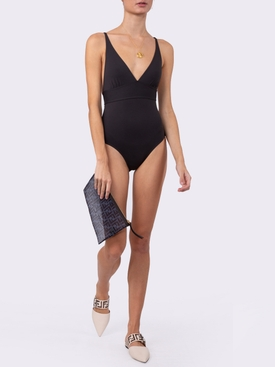 Larcin one-piece swimsuit