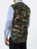 Junya Watanabe Comme Des Garcons Man - Camo Panel Stripe Shirt - Men