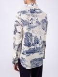 Chloé - Blue And White Cotton Shirt - Women