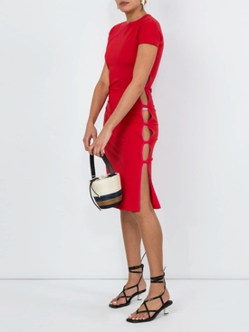 Red Tchikiboum Dress RED