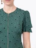 Alexachung - Green Flower Print Midi-dress - Women