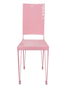 Car Crash Chair, Rose PINK