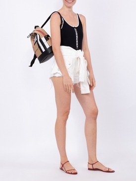 Icon stripe backpack