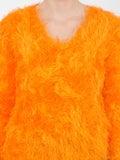 Marine Serre - Fluffy Knitted Sweater - Women