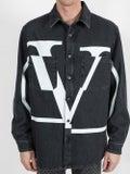 Valentino - Logo Denim Shirt - Denim
