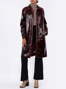 Blaine laquered coat