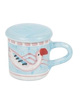 The Webster x Ceramica Artistica Solimene Flamingo Expresso Cup MULTICOLOR