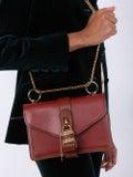 Chloé - Aby Chain Shoulder Bag Sepia Brown - Women