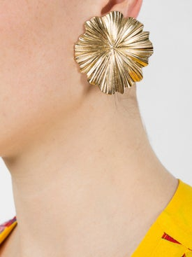 Aurelie Bidermann - Floral Shape Clip-on Earrings - Women