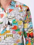 Comme Des Garcons Shirt - Comic Book Print Shirt - Men
