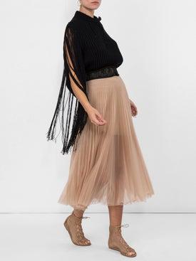 Calvin Klein 205w39nyc - Fringed Sleeves Jumper - Women