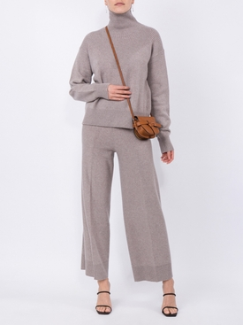 Loose fit wool trousers GREY