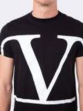 Valentino - Vlogo T-shirt Black - Men