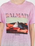 Balmain - Tie-dye Print T-shirt - Women