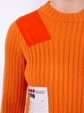 Heron Preston - Orange Patch Ribbed Dress - Women