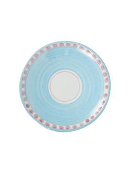 The Webster x Ceramica Artistica Solimene Flamingo Expresso plate MULTICOLOR