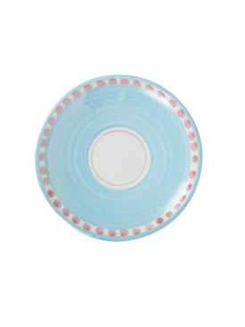 Ceramica Artistica Solimene - The Webster X Ceramica Artistica Solimene Flamingo Expresso Plate Multicolor - Home