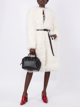 Givenchy - White Oversized Coat - Women