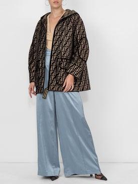 Fendi - Oversized Devore Jacket - Women