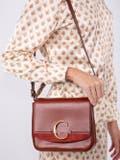 Chloé - Terracotta Medium C Bag - Women