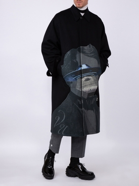 Valentino x Undercover UFO face jacket