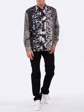 Givenchy - Silk Print Panel Shirt - Men