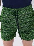 Vilebrequin - Green Turtle Embroidered Mistral Swimming Trunk - Men