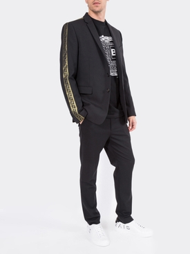 FF Logo Embroidered Blazer