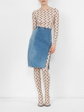 Re/done - Pencil Denim Skirt - Women