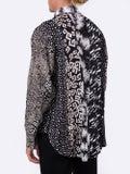 Givenchy - Silk Print Panel Shirt - Men
