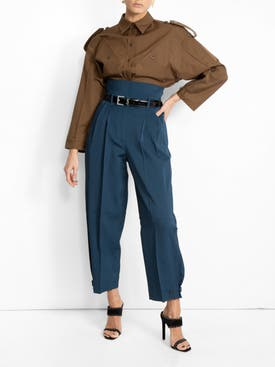 Givenchy - High-waisted Ballon Trousers - Women